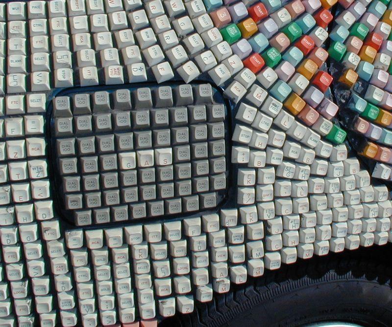 Closeup keys