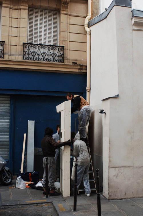 Installing Berthiers door
