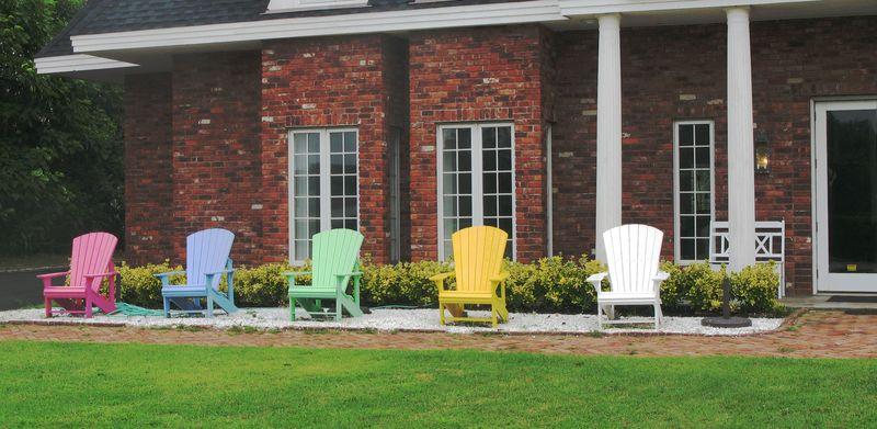 Rainbow chairs1