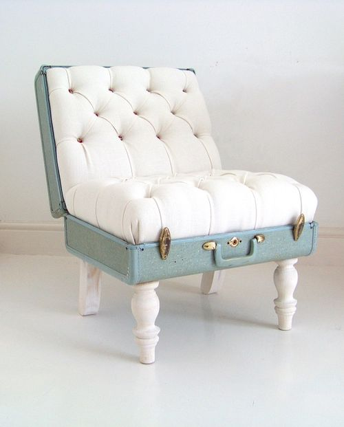 Katiethompson suitcase chair